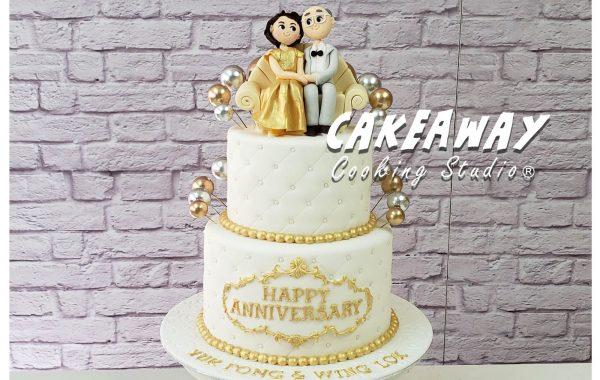 結婚50週年蛋糕