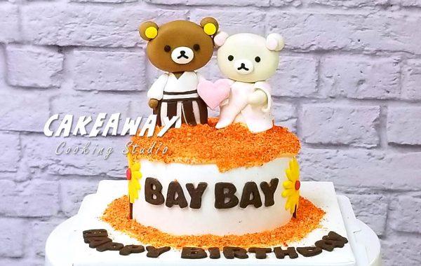 鬆馳熊秋楓主題蛋糕