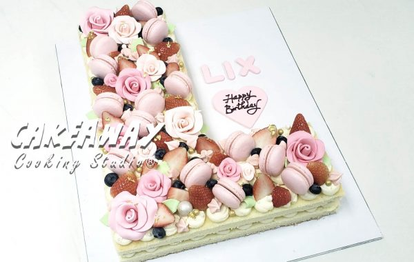 數字/字母蛋糕