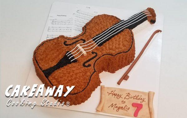 小提琴蛋糕
