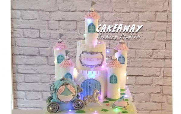 灰姑娘夢幻城堡蛋糕