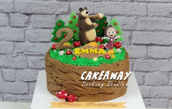 瑪莎與熊蛋糕