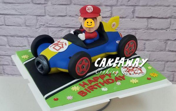 Mario 瑪利奧賽車蛋糕