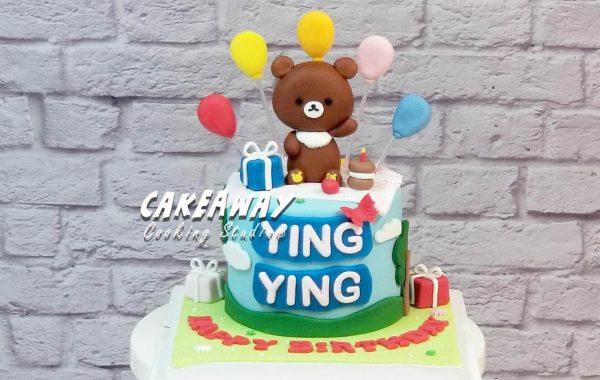 茶小熊蛋糕