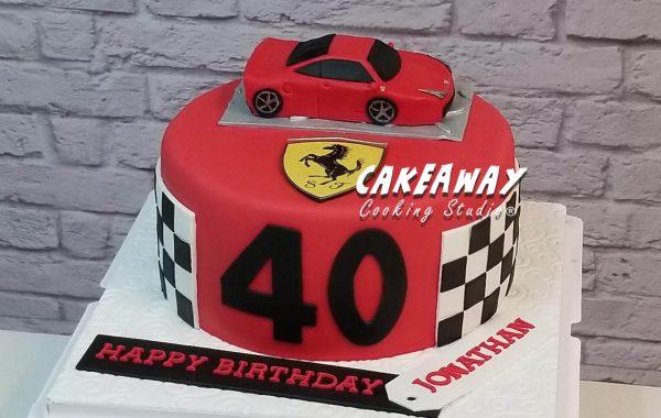 法拉利Ferrari 蛋糕