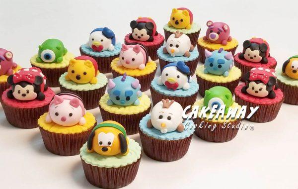 Tsum Tsum Cupcake