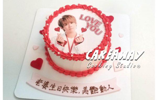 姜濤@MIRROR 蛋糕(食用打印)